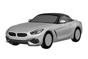 New BMW Z4 patent images leaked before reveal at Pebble Beach