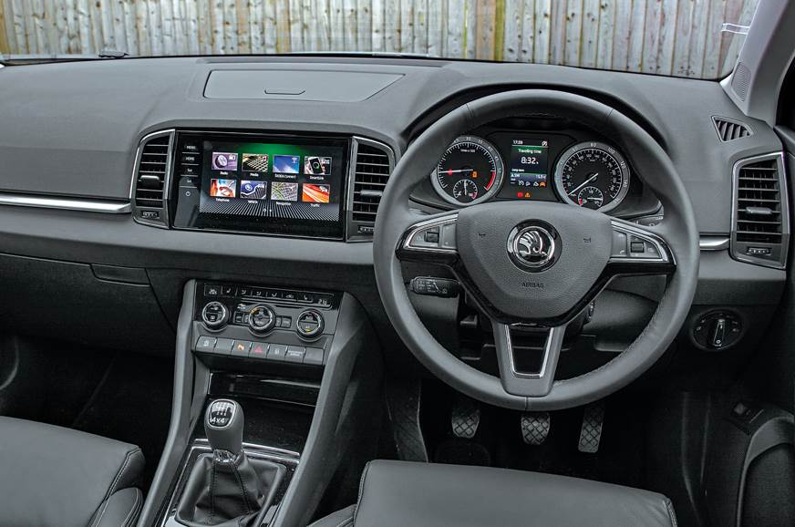 Cabin exudes typical Skoda premiumness; well-finished, wi...