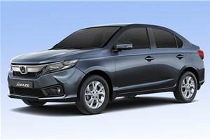 Honda Amaze automatics register strong interest