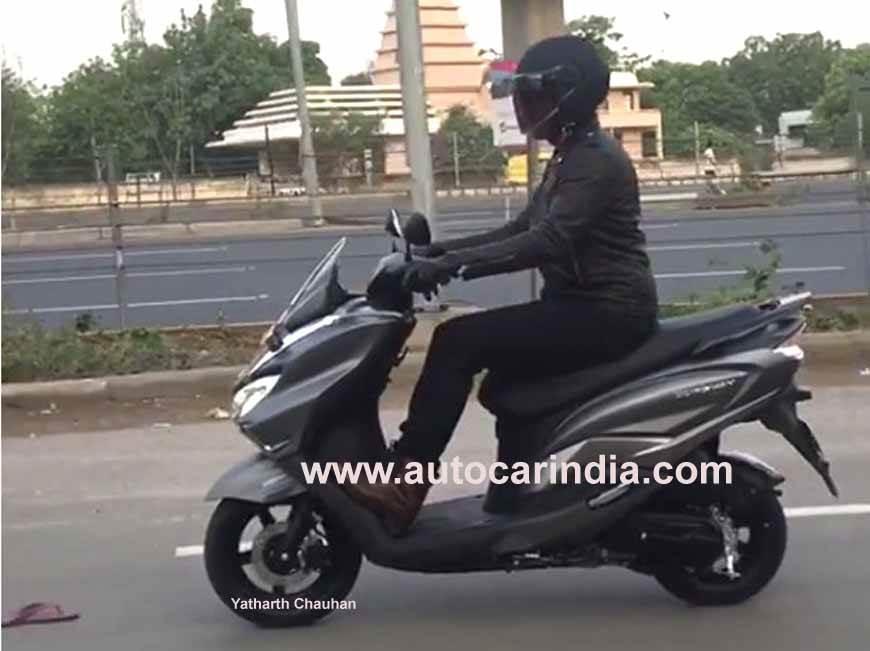 Suzuki Burgman Street India launch in July