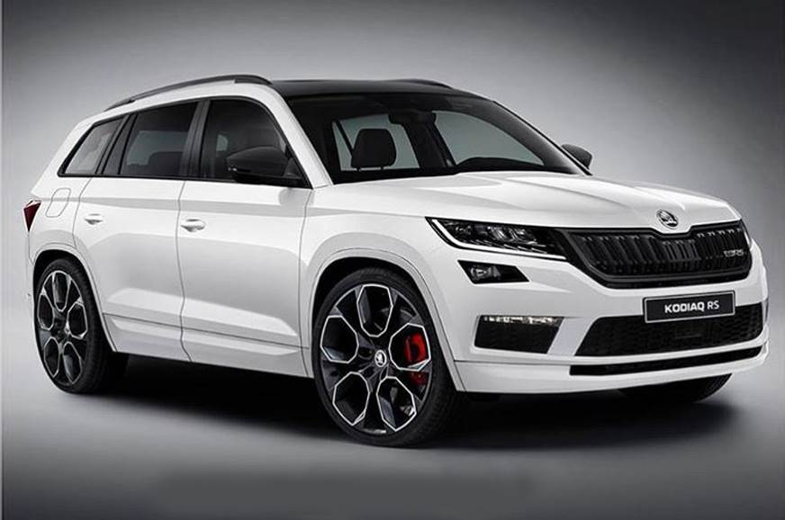 Skoda Kodiaq RS teaser confirms model