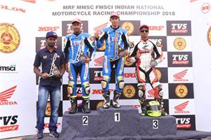 INMRC 2018 Round 1: TVS Racing makes winning start