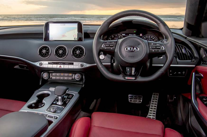 kia stinger 5 things to know autocar india. Black Bedroom Furniture Sets. Home Design Ideas