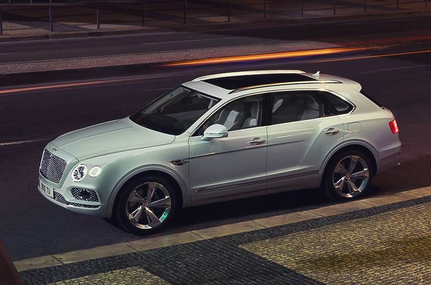 The current Bentayga Hybrid sold in international markets.