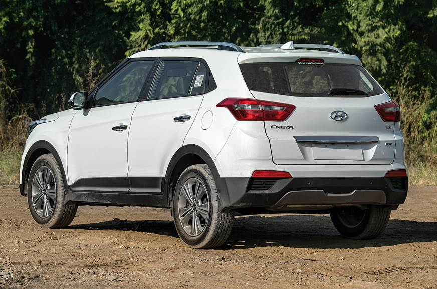 The Creta's design gives it that all-important road prese...