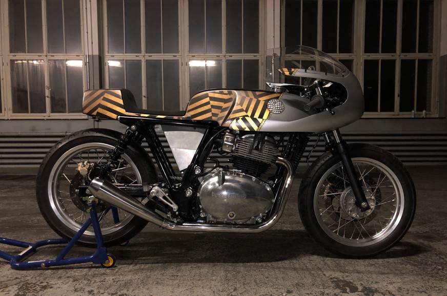 Royal Enfield showcases three new custom 650cc bikes