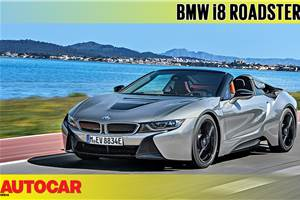 2018 BMW i8 Roadster video review