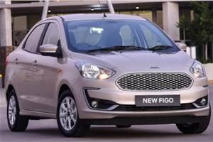 Ford Figo sedan facelift for export markets revealed