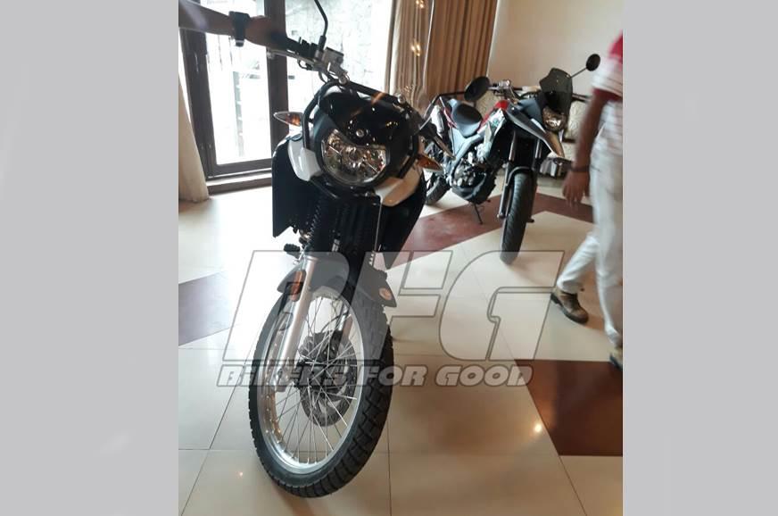 UM adventure bikes spied in India