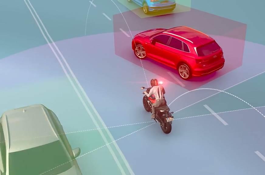 Camera-based collision warning system showcased