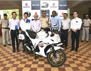 Suzuki Motorcycle India flags-off 'Helmet For Life' road safety campaign