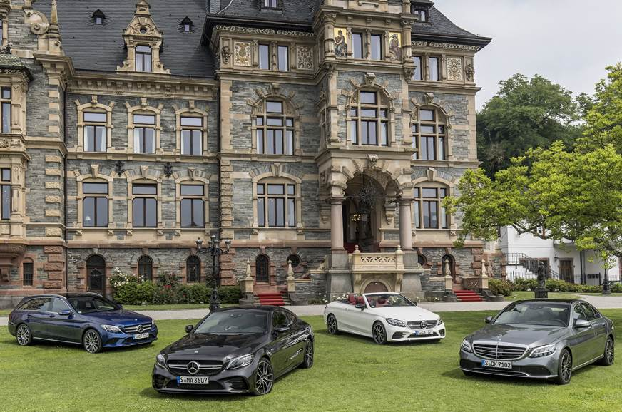 The refreshed C-class family.
