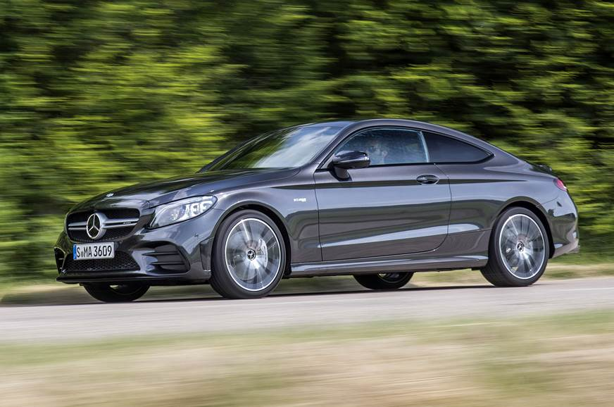 The Mercedes-AMG C 43 Coupe.