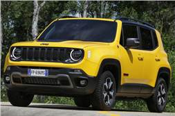 Jeep Renegade Trailhawk facelift revealed