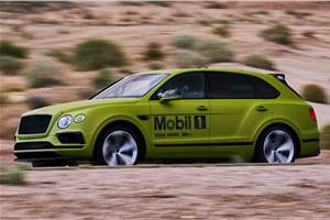 Bentley to attempt Pikes Peak record with Bentayga