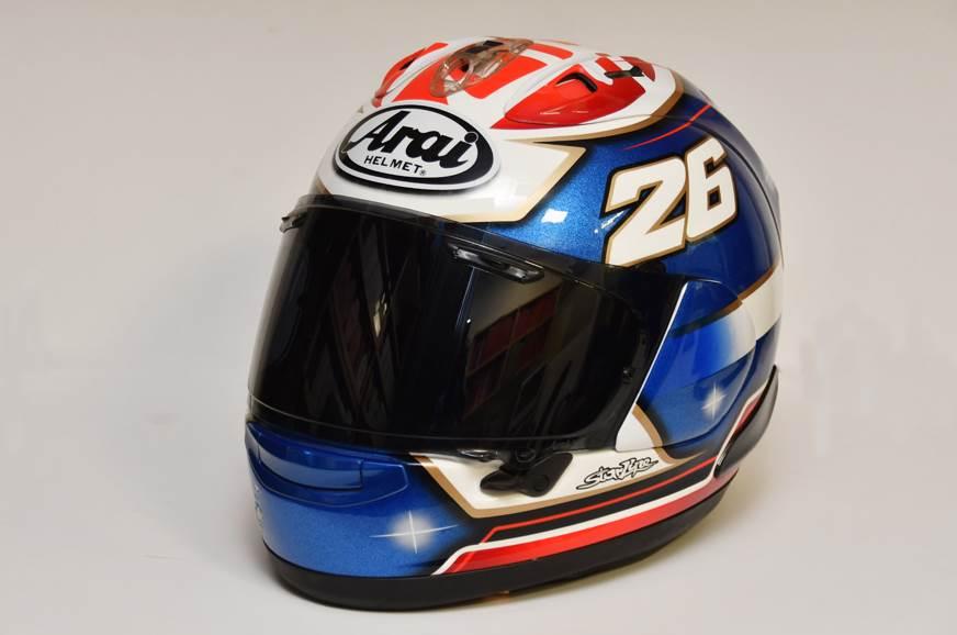 Arai RX-7X Pedrosa helmet review