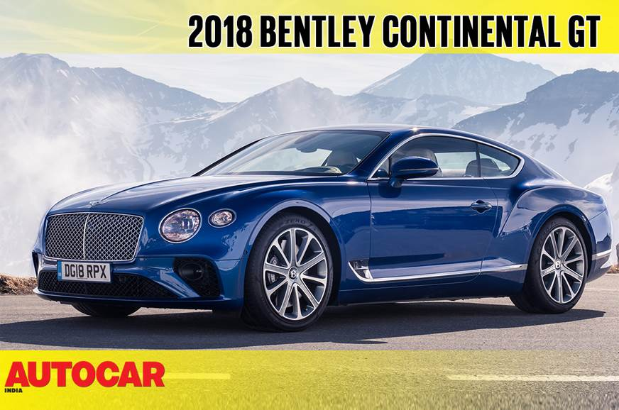 2018 Bentley Continental GT Coupe video review
