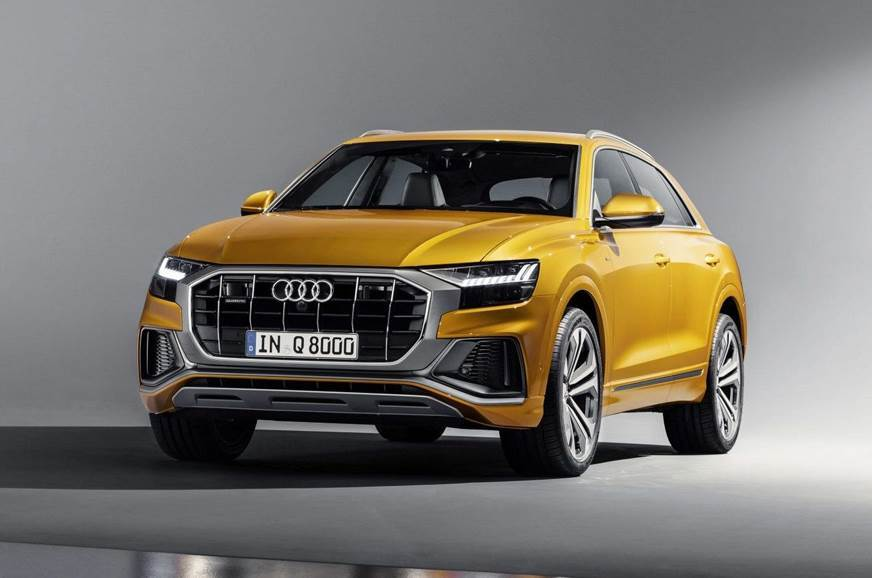 The recently revealed Audi Q8.