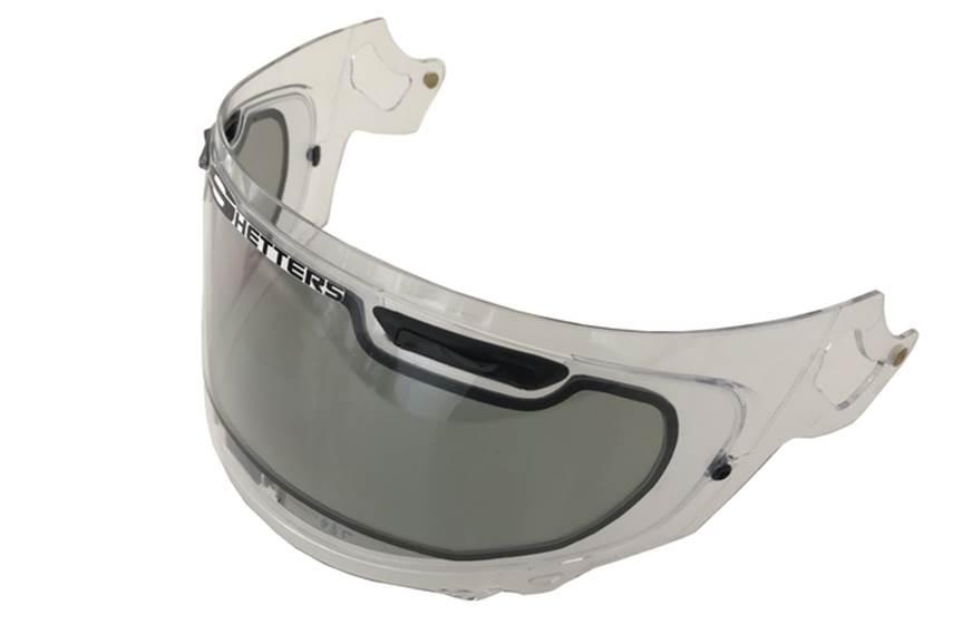 New solar-powered adaptive LCD visor for helmets revealed