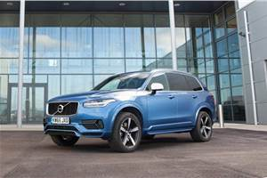 2018 Volvo XC90 T8 Inscription launched at Rs 96.65 lakh