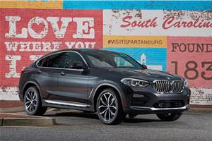 BMW X4 India launch in 2019