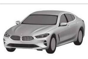BMW 8-series convertible, Gran Coupe seen in patent pictures