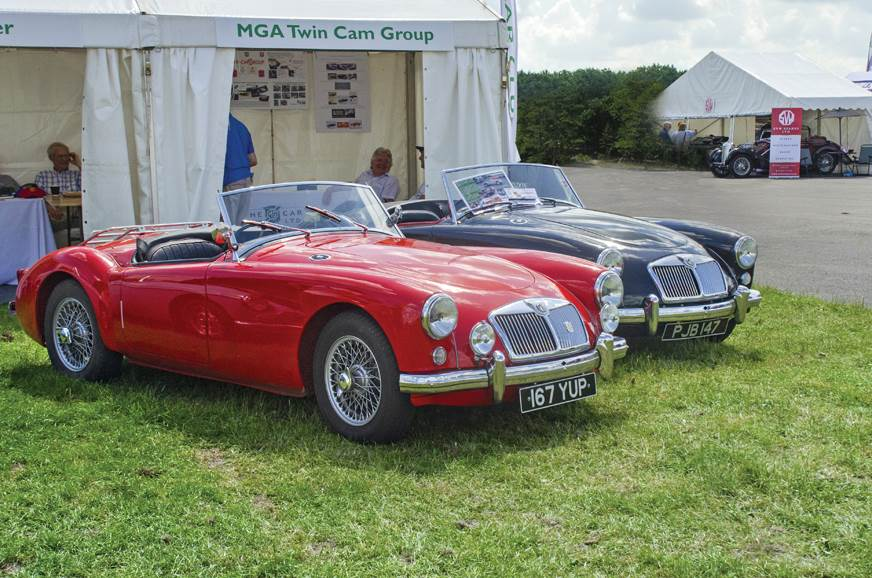 The stunning lines of the MGA are even more alluring today.