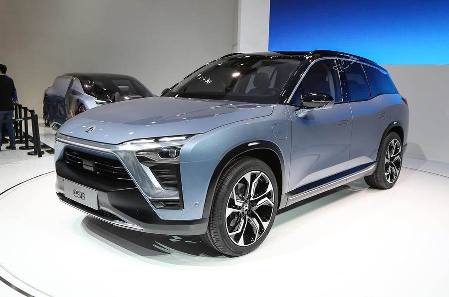 NIO begins delivery of ES8 SUV