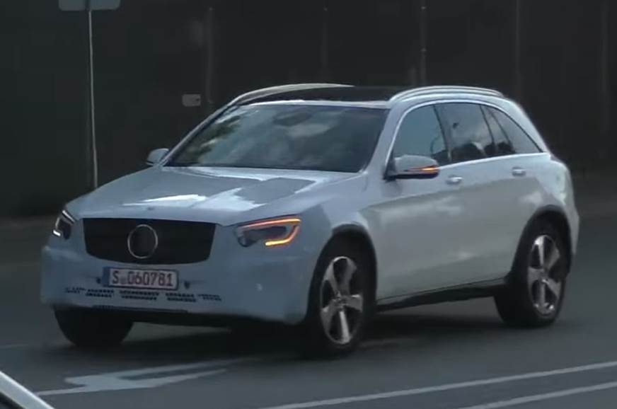Mercedes GLC facelift in the works