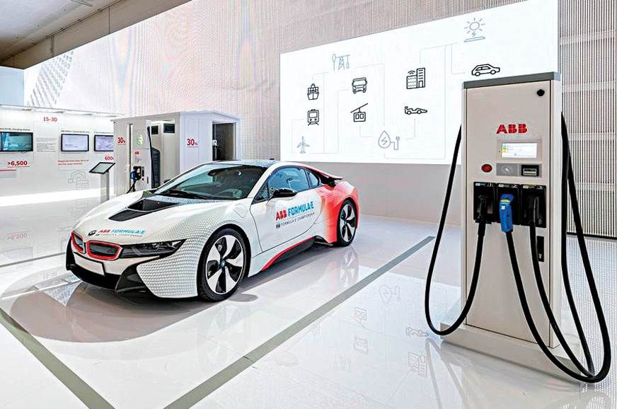 ABB sees big potential in EV charging infrastructure in India