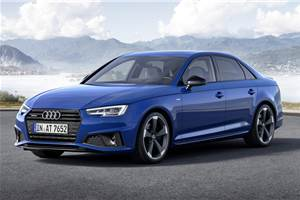 India-bound Audi A4 facelift revealed