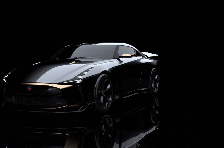 Nissan and Italdesign unveil GT-R50 prototype