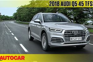 2018 Audi Q5 45 TFSI video review