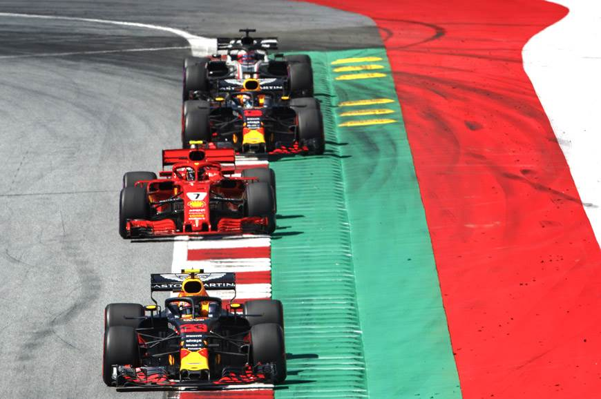 Verstappen wins incident-packed Austrian GP