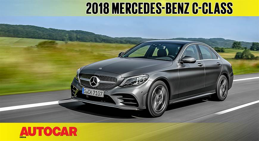 Mercedes-Benz C-Class facelift video review