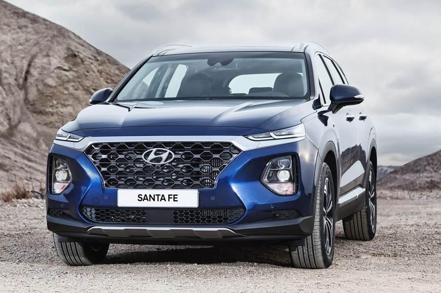 The new Hyundai Santa Fe SUV made its debut earlier this year.