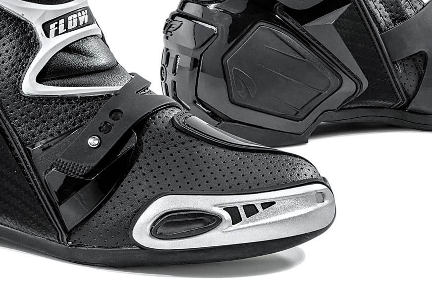 Toe-sliders scuff easy.