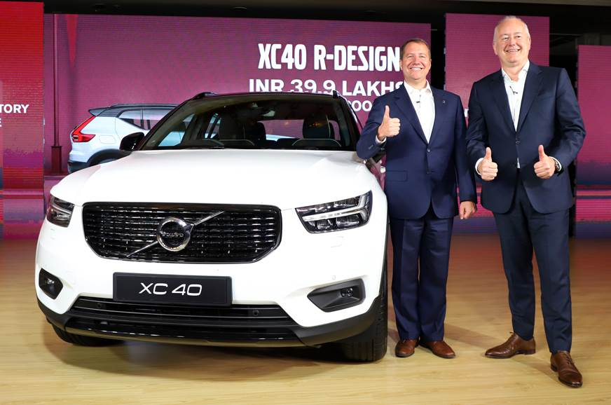 2018 Volvo XC40 launched at Rs 39.90 lakh