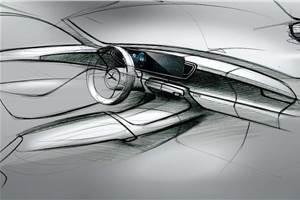 Next-gen Mercedes GLE interior sketches revealed