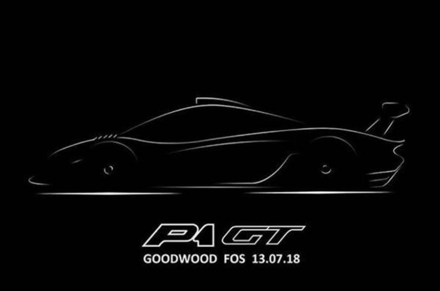 Lanzante to unveil McLaren P1 GT Longtail at Goodwood