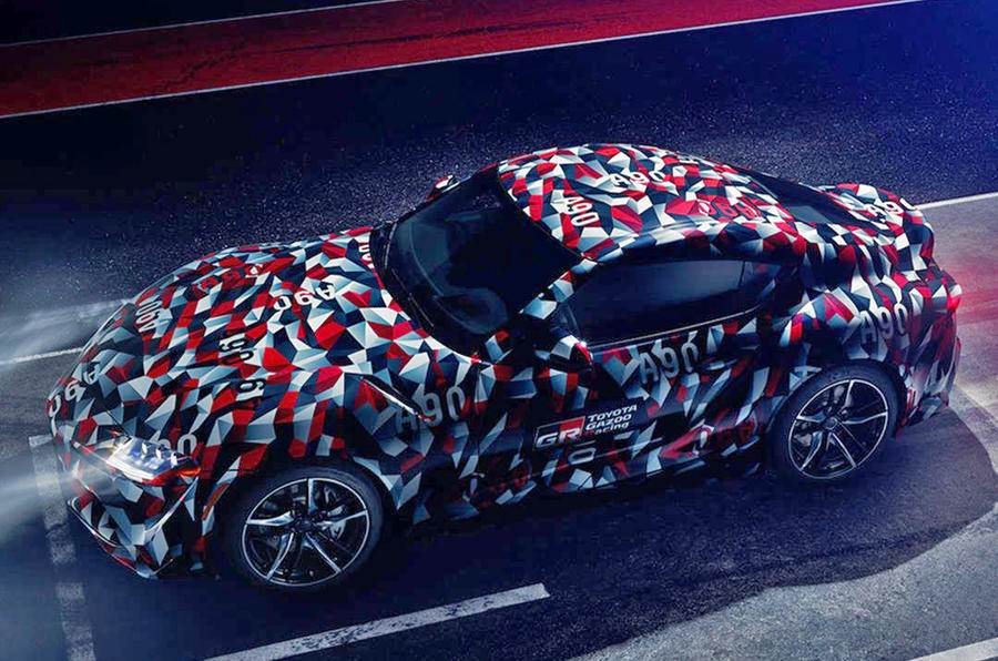 Toyota Supra prototype to participate in Goodwood hill climb
