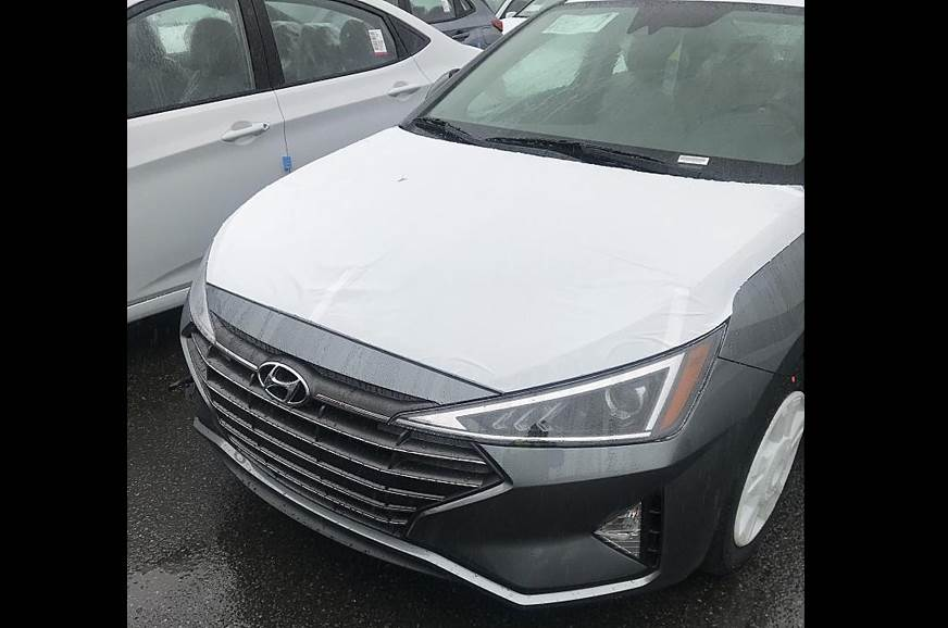 Hyundai Elantra facelift images leaked