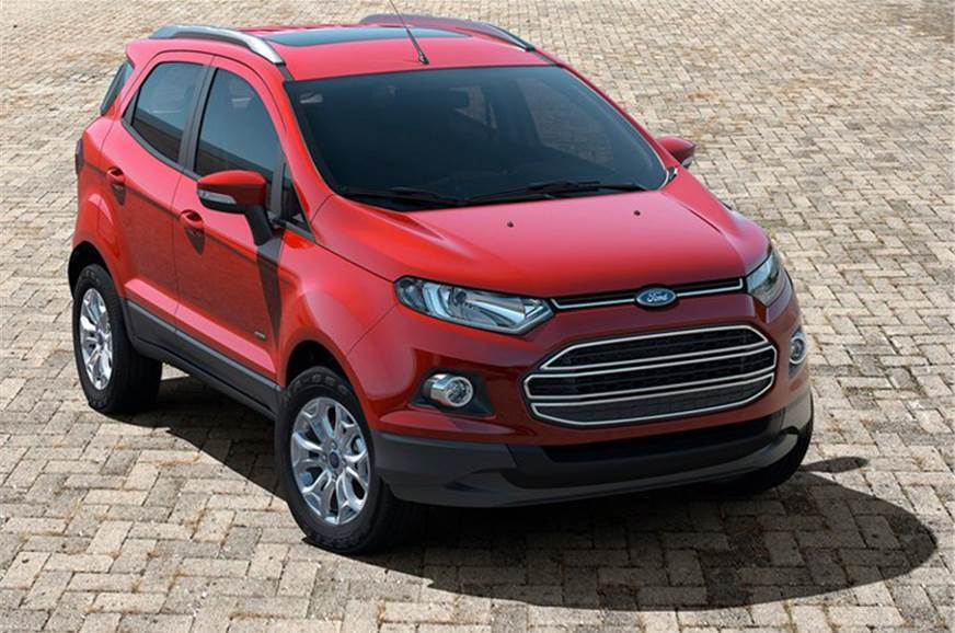 The pre-facelift Ford EcoSport
