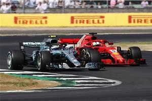 British GP: Vettel wins Silverstone thriller