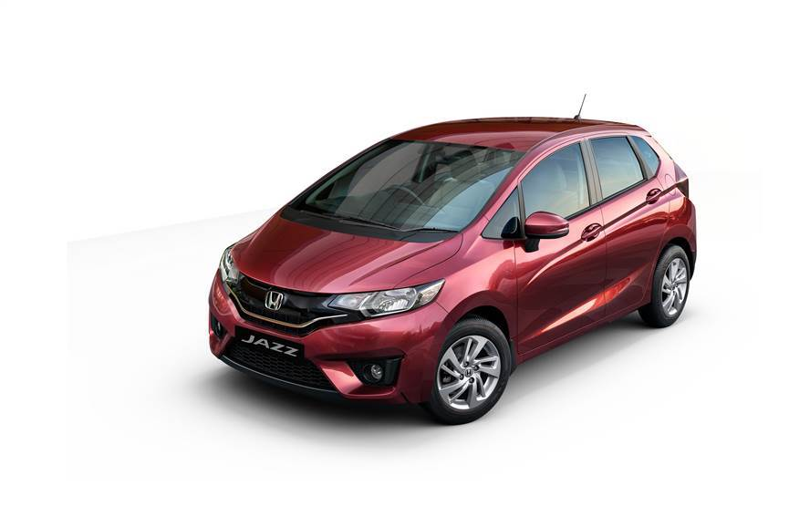 Honda Jazz Privilige edition shown.