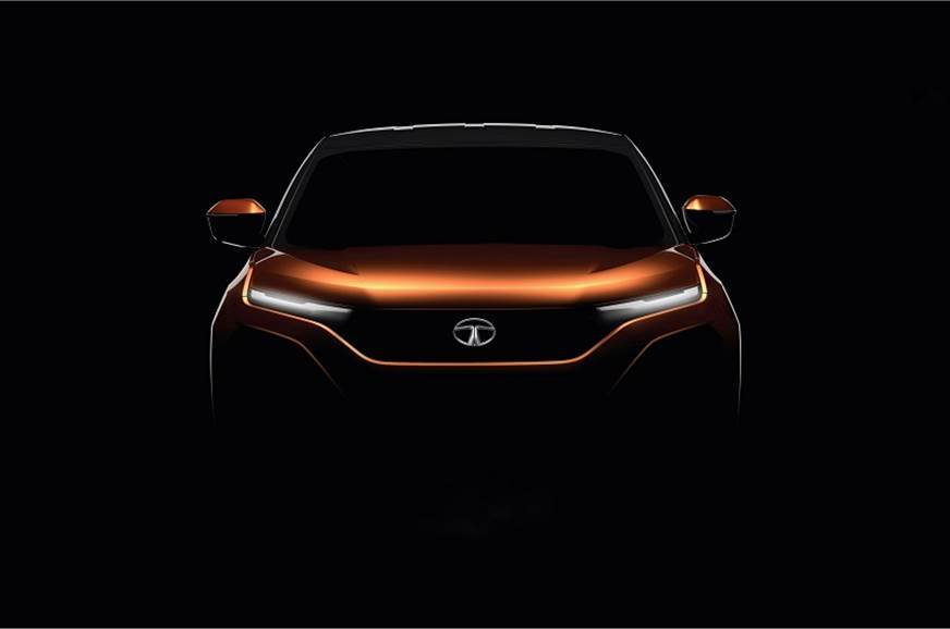 The teaser released recently by Tata of the Harrier.