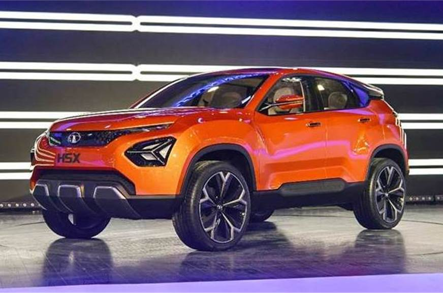 The concept showcased at the 2018 Auto Expo.
