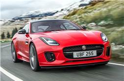 2018 Jaguar F-Type launched with 2.0 Ingenium petrol engine