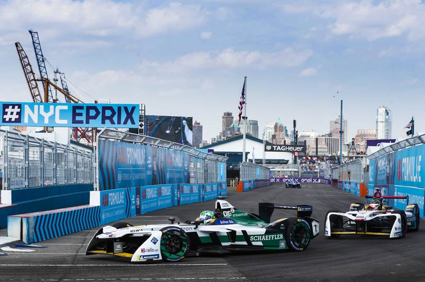 Vergne clinches 2017/18 Formula E title in New York