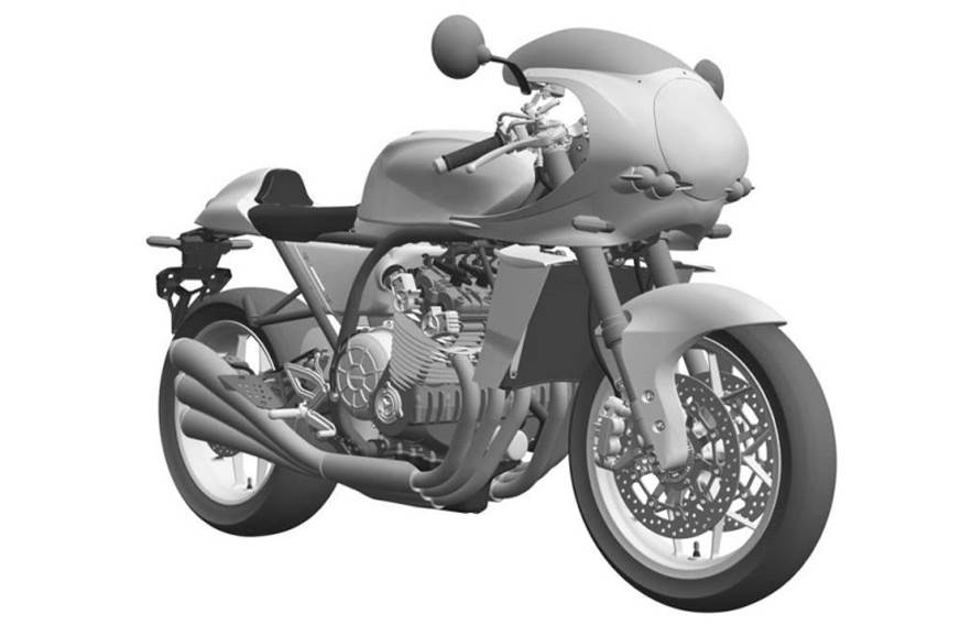 Honda CBX six-cylinder retro bike patent images leaked